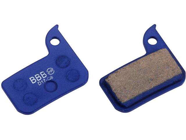 BBB DiscStop Pastillas Freno SRAM Road Hydro, blue